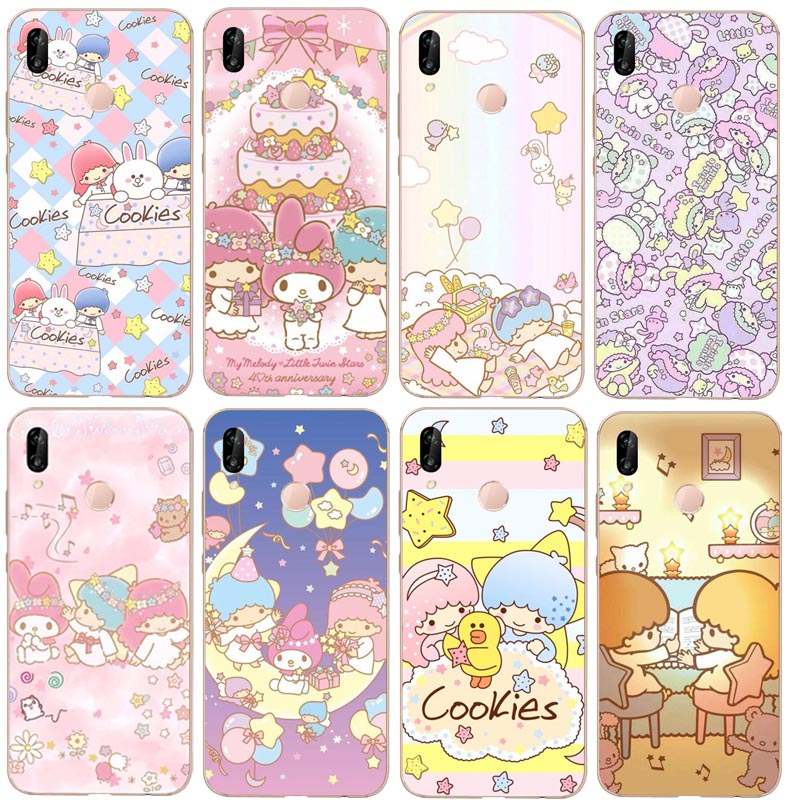 Cute My Melody Little Twin Stars Hard PC phone Cover Case For Huawei P7 P8 P9 P10LITE 2017 P8L P20LITE