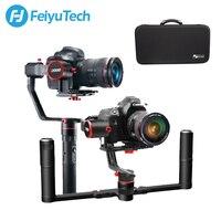 FeiyuTech a2000 Стабилизатор камеры для беззеркальной DSLR одиночный ручной карданный стабилизатор для Canon Sony, Panasonic 250 2500g Полезная нагрузка Feiyu