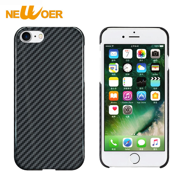info for 16f96 10d7d US $40.99 |100% Real Pure Carbon Fiber Cover Matte Phone Case For iPhone 7  Cover Anti Radiation Shell Back Housing Newoer-in Half-wrapped Case from ...