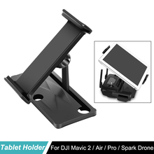 DJI Mavic 2 Remote Control bracket Phone Pad Tablet Holder Aluminum Bracket for Air Pro Zoom Spark Drone