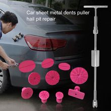 New Slide Hammer T-Puller Bar Car Dent Remover Repair Tool 10 Piece Pulling Tool Set For Automobile Lifter Paintless Removal Kit