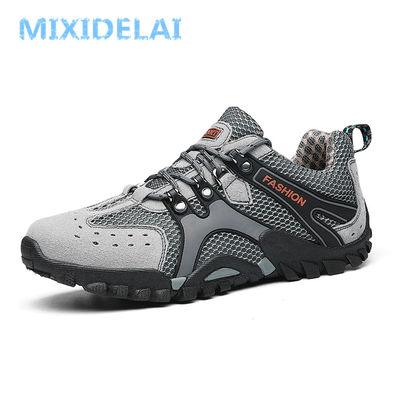 Spring Autumn Quality Genuine Leather Casual Sneakers Men Shoes Male Walking Brand Comfortable Breathable Non Slip Footwear 2019