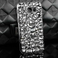 New Hot Sale Crystal Cellphone Cover Case For Samsung Galaxy A5 2017 Shinny Bow Knot Fox