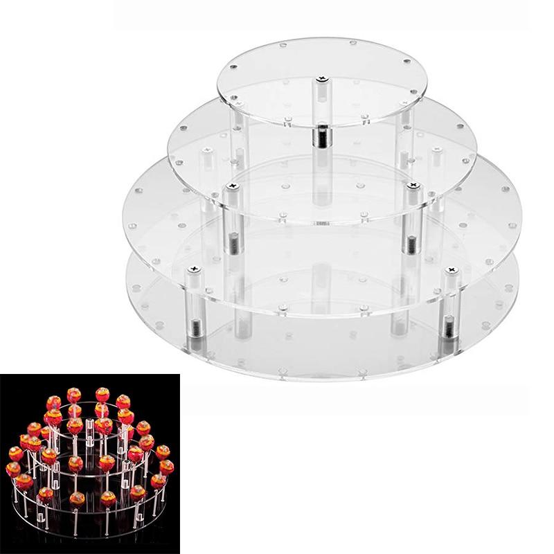simple decorative holders Lollipop Cake 35 Holes Display Wedding Stand Holder Base Lollipop Holder