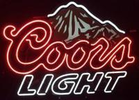 Coors Light Beer Glass Neon Light Sign
