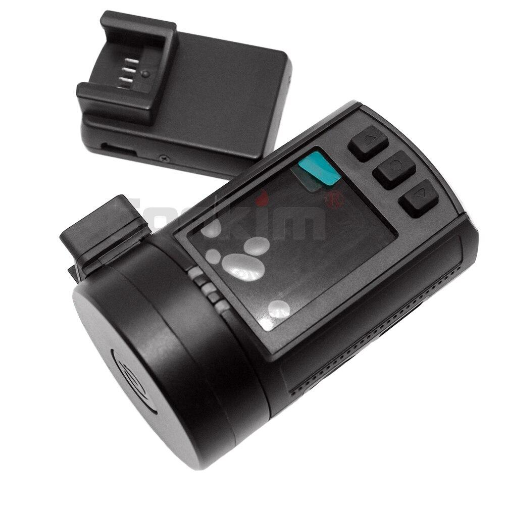 Conkim Ambarella A7 tableau de bord caméra Mini 0806s voiture DVR avec GPS 1296P 1080P Full HD Auto enregistreur vidéo Super condensateur voiture caméra GPS - 5