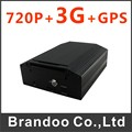 4CH 720P BUS DVR with 3G+GPS function, 2TB HDD momory, for bus,vans used model BD-307GW