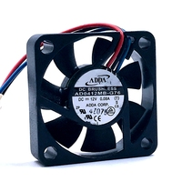Original new FOR ADDA AD0412MB-G76 4010 40mm DC 12V  0.08A ultra silent fan double ball bearing cooling fan