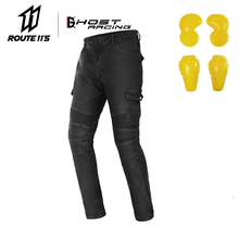 где купить New Motorcycle Pants Men Moto Jeans Protective Gear Riding Touring Motorbike Trousers Motocross Pants Pantalon Moto Pants по лучшей цене