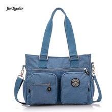JinQiaoEr women mummy bag Super light water proof nylon leisure Oversized Shoulder Bag Handbag
