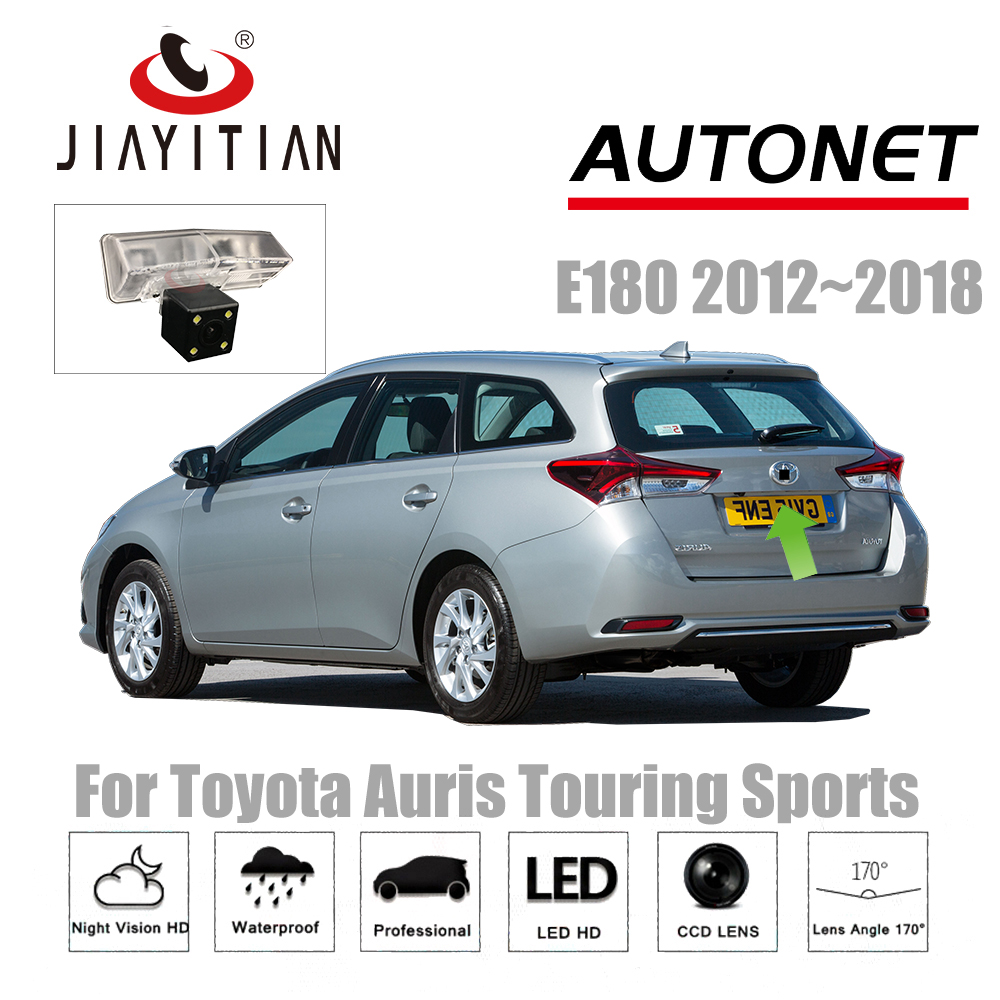 JIAYITIAN rear camera For Toyota Auris Touring Sports/Hybrid E180 2012~2018 CCD Night Vision Backup Camera license plate camera велосипед cube touring hybrid sl 500 2018