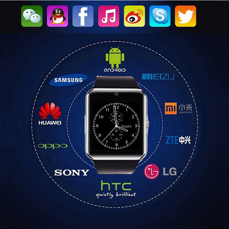 2017 Pewant Smart Watch GT08 Android