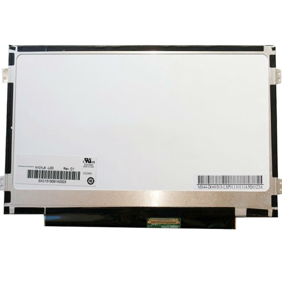 B101AW06 V 1 N101L6 L0D LTN101NT08 Laptop lcd Screen FOR asus 1025c notebook display 1024 600