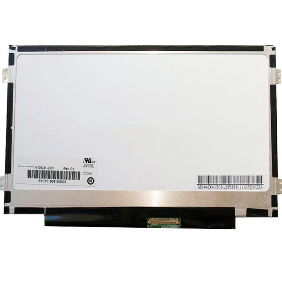 B101aw06 v.1 n101l6 l0d ltn101nt08ノートパソコン液晶画面用asusの1025cノートブックディスプレイ1024*600ピン  グループ上の パソコン & オフィス からの ノートパソコンの液晶画面 の中 1