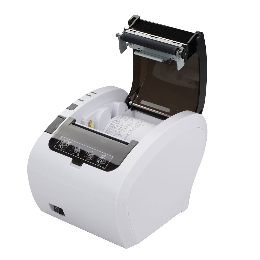 Pos чековый принтер 80 мм Термопринтер линия печати Авто резак чековый принтер usb - 5