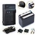 1 * 7000 mAh NP-F960 NP-F970 pilas / F960 batería + 1 * cargador para Sony NP-F550 NP-F770 NP-F750 F960 F970 envío gratis