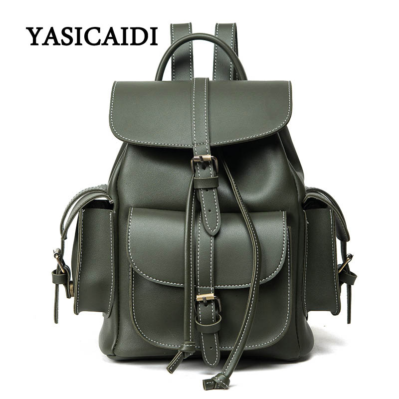Women Backpack Youth Fashion Pu Leather Backpack for Teenage Girls Brand Feminine Rucksack School Shoulder Bag Mochila fashion shoulder bag backpack multifunction chest women leather backpack school bags for teenage girls mochila feminina rucksack