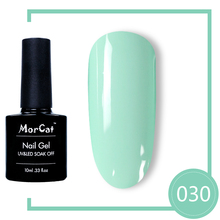 MorCat Gel Nail Polish Green Series UV Gel Varnish Soak Off Vernis Semi Permanent