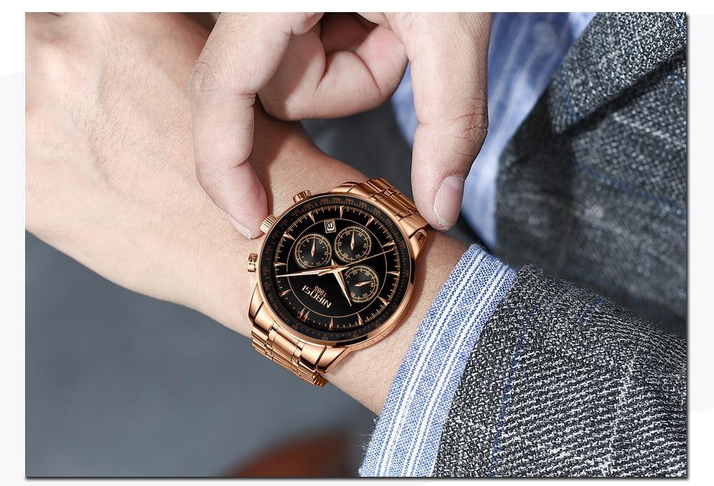Relogio Masculino NIBOSI Quartz Watches Men Steel Band Men Watches 2018 Luxury Brand Waterproof Wrist Watches For Men Brand Saat (15)