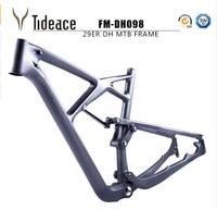 2017 2018 full suspension 29er bicycle frame China mtb suspension carbon frame 29er carbon mountain bike frame 29er matte