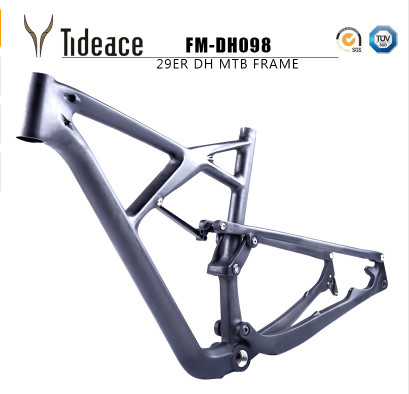 2017 -2018 Full Suspension 29er Bicycle Frame China Mtb Suspension Carbon Frame 29er Carbon Mountain Bike Frame 29er Matte