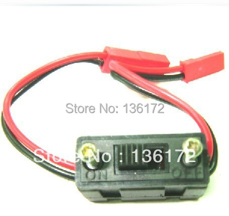Henglong 3850-3 1:10 R/C Nitro Turbulent Elders truck parts No C004 power switch