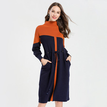 New Style Dress Half-Turtleneck Kintted Sweater High Quality Womens