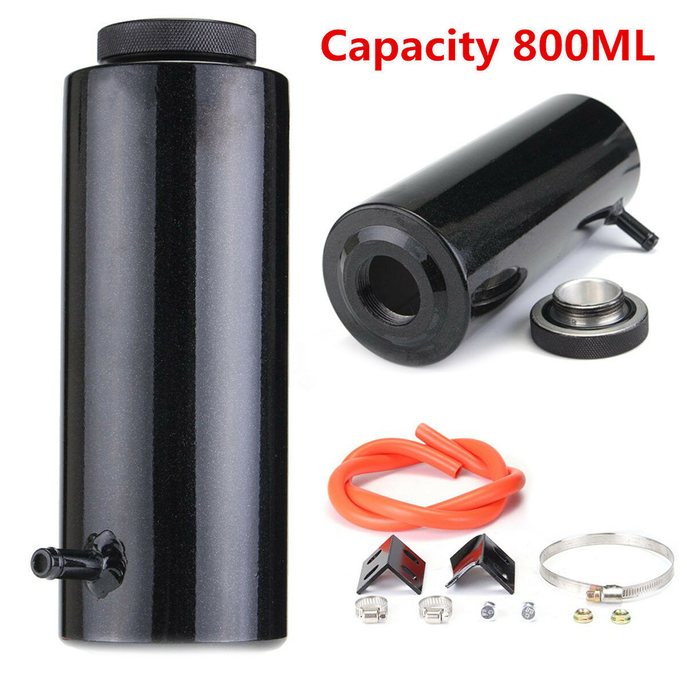 800ml Capture Reservoir Universal Cylinder Coolant Radiator Car Accessories Tool Overflow Expansion Breathable Bottle Catch Tank