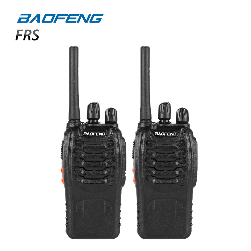 2 pcs Baofeng BF-88A FRS Talkie Walkie 0.5 w UHF 16 CH 462-467 mhz De Poche Ham Two way radio Mise À Niveau Version de BF-888s Pour NOUS