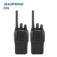 2 STKS Baofeng BF-88A FRS Walkie Talkie 0.5 W UHF 16 CH 462-467 MHz Handheld Ham Twee manier Radio Upgrade Versie van BF-888s voor ONS