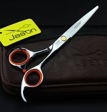 Hot Sale Cutting Scissors JASON Hair Scissors Hairdressing Scissors  Human Hair Shears 5.5Inch/6Inch,1pcs/lot LZS0309