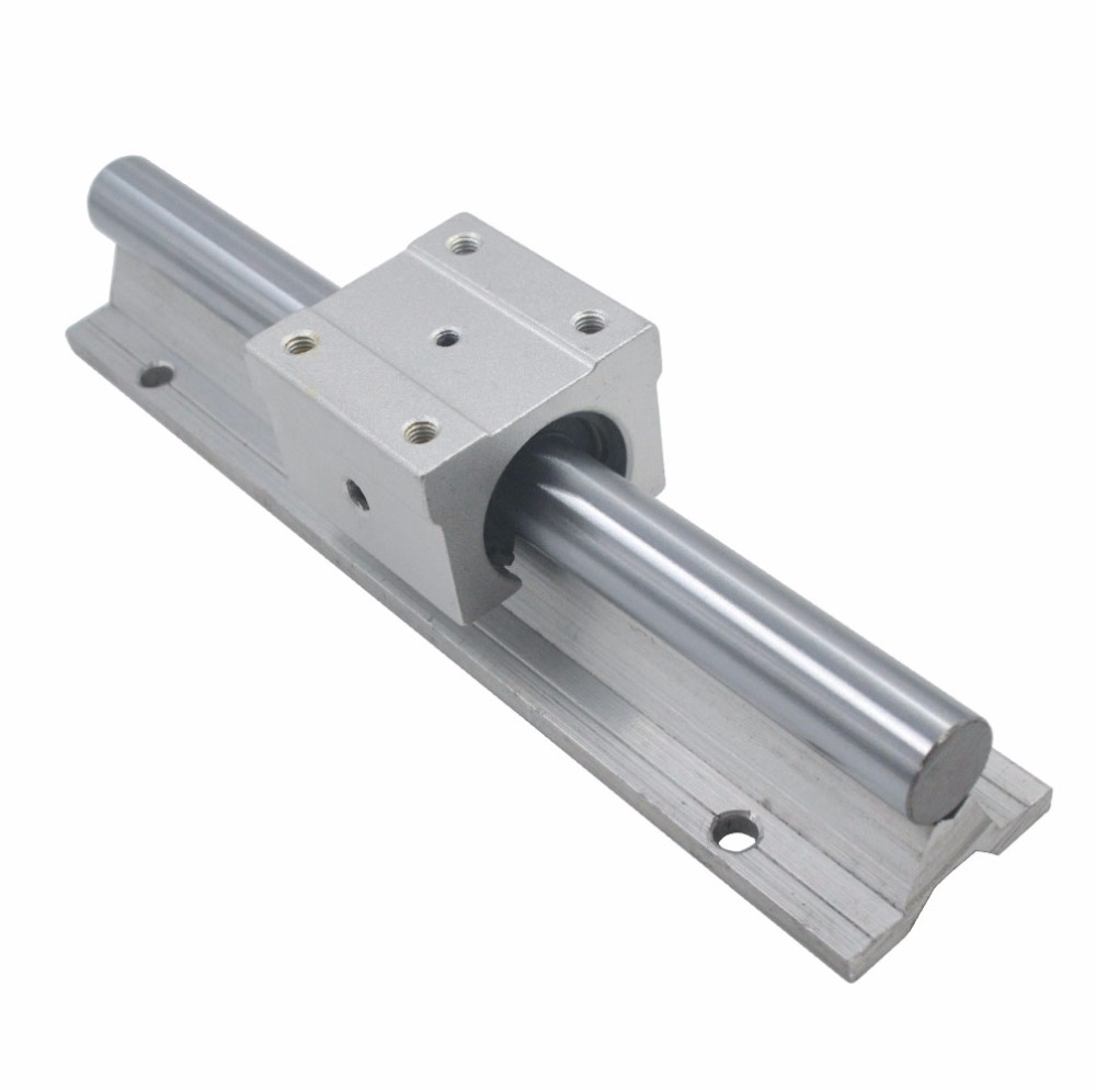 LINEAR RAIL SHAFT with 12 SBR16UU Block 2 X SBR16-300 // 700 // 1100 MM