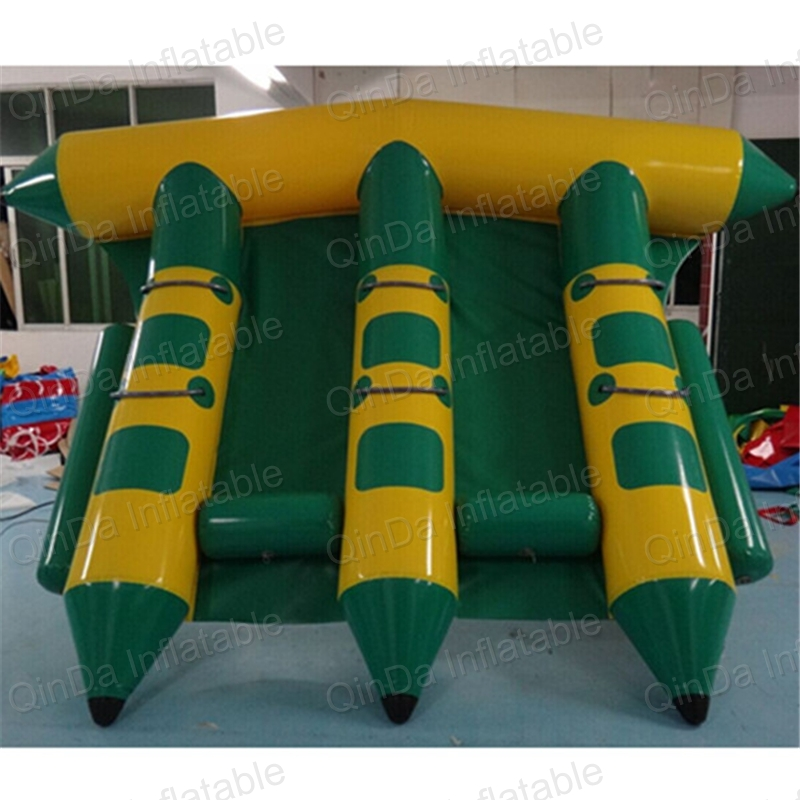 Flying Banana Boat Wave Surfing Flying Mantaray Inflatable Boat Inflatable Flying Toward Water Sport Toy цена