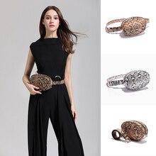 купить Women Serpentine Waist Pack Leahter Fanny Pack Waist Bag Snake Skin Waist Belt New High quality Female Purse Shoulder Bags N50 дешево
