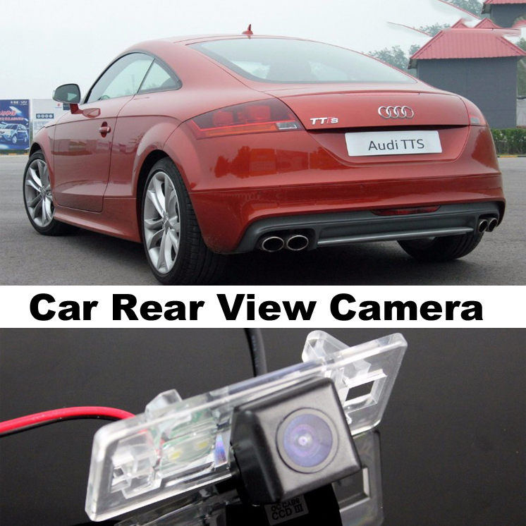 Car Camera For Audi TT TTS MK2 8J 2007~2014 High Quality Rear View Back Up Camera For Top Gear Friends to Use  CCD With RCA