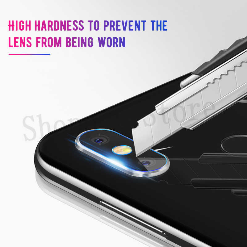 Back Camera Lens Tempered Glass For Xiaomi Play Note3 Mi8 SE A2 Lite Mi6X 5X A1 PocophonF1 For Redmi 7 6Pro Mix2 2S Max 3 Pro S2