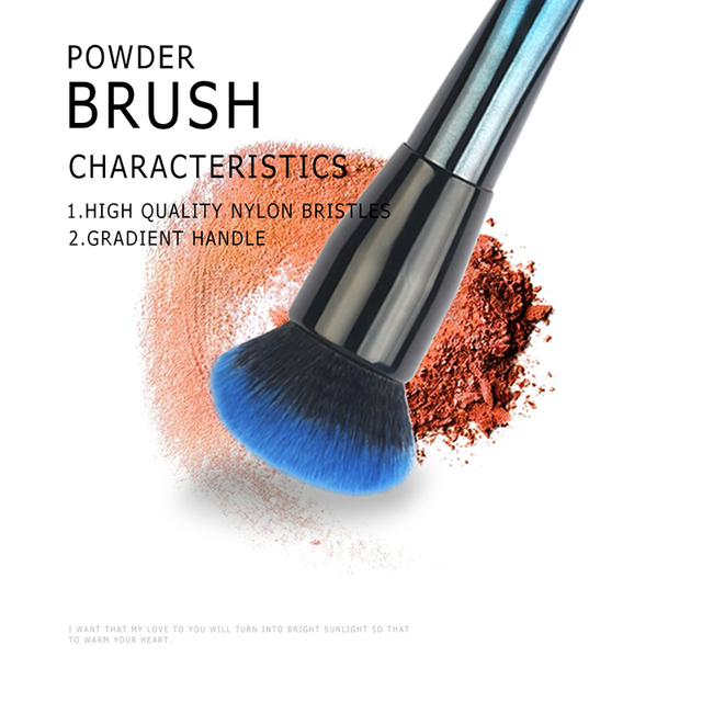 Beauty Make Up Brushes Professional Portable Nylon Hair Soft Full