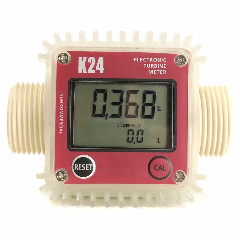 Pro K24 digitális üzemanyag-áramlásmérő vegyszerek vízszintes - Mérőműszerek - Fénykép 3