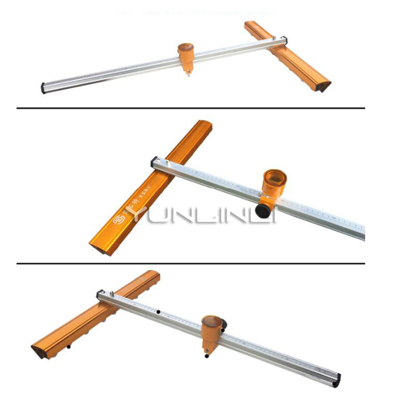 Glass Cutter Glass Push Knife T-type Bold Heavy Thick Glass High Precision Roller Type Drag Knife Cutting Tile Cutting Machine