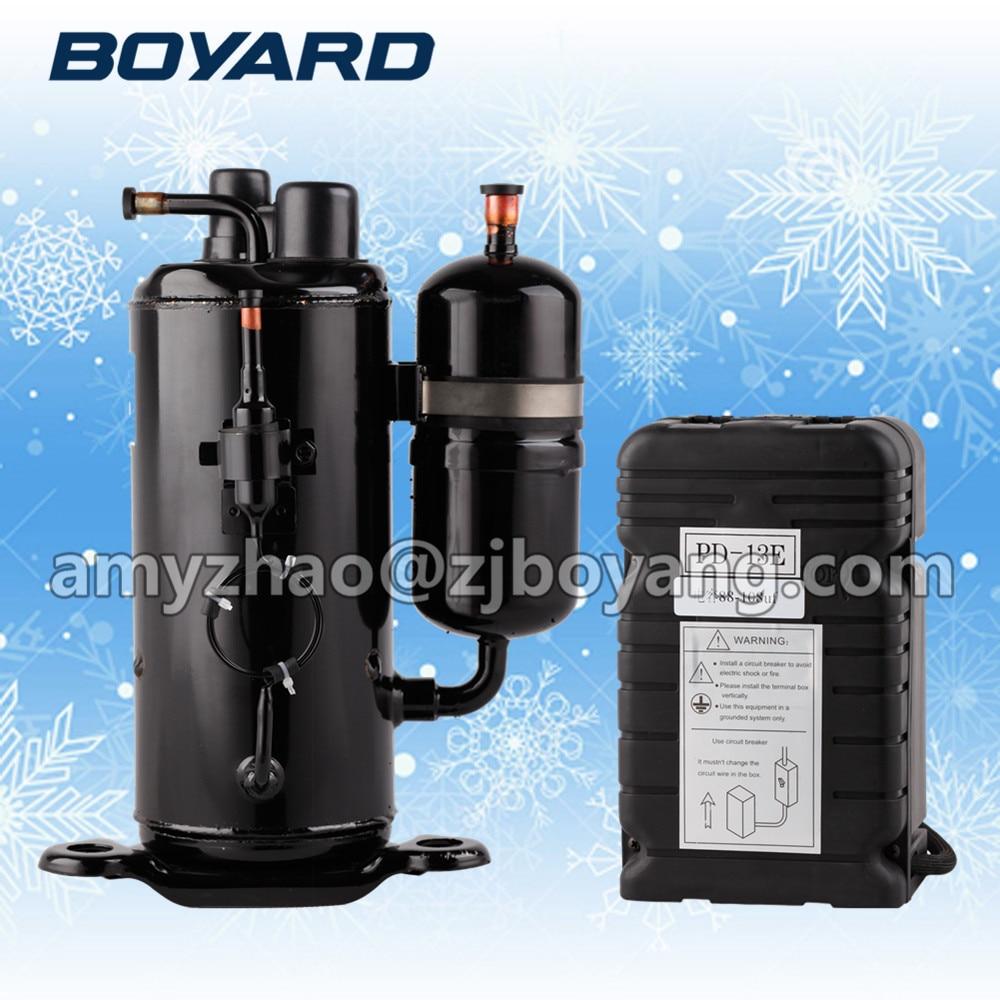 refrigeration system components with BOYARD rotary cooling compressor boyard 12v 24v refrigeration compressor for car minibar