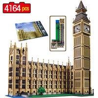 LELE Street View Series London Big Ben Model Building Blocks Bricks Creator Boys Toys For Children