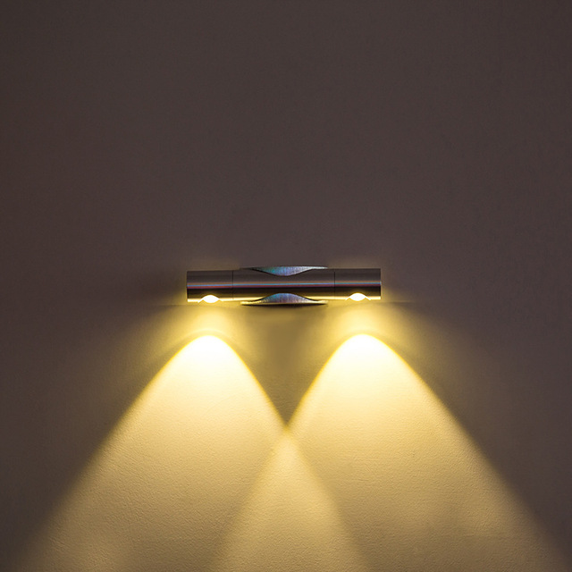 High quality double headed LED wall lamp light living room aisle ...