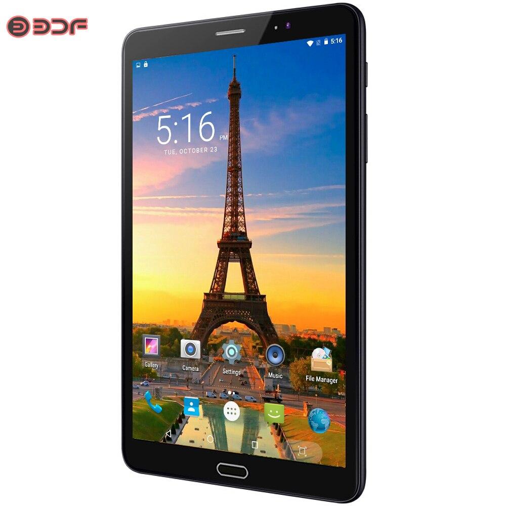 Nouveau 8 pouces Android 6.0 tablette Pc 3G/4G LTE carte SIM appel téléphonique 1920*1200 IPS 2.5D écran tablettes 4 GB/32 GB Phablet