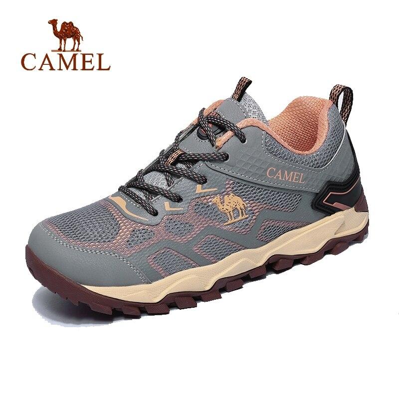 CHAMEAU Hommes et Femmes En Plein Air chaussures de randonnée respirantes Non-glisser Durable Anti-impact Confortable Voyage Randonnée Trekking chaussures de trail