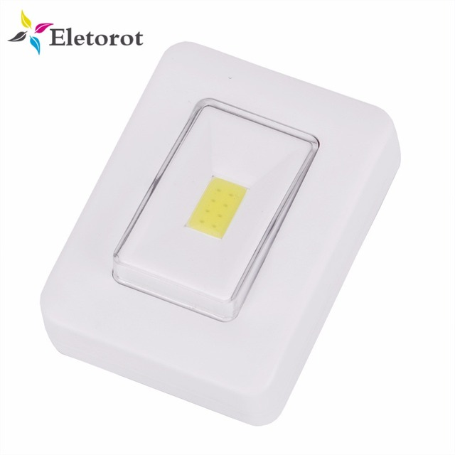 Magnetic led cob switch night light aaa battery operated cordless magnetic led cob switch night light aaa battery operated cordless under cabinet light with magnet aloadofball Images