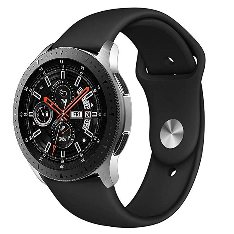 22MM 20MM Sport Silicone Watch Strap For  Samsung Gear S3 Galaxy Watch 46mm 42mm Active Band For Gear Sport S2 Amazfit Bip Sport