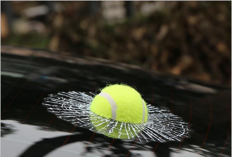 3D Car Stickers Funny Auto Car Styling Ball Hits Car Body Window Sticker For Mitsubishi ASX Pajero Cordia Diamante Eclipse