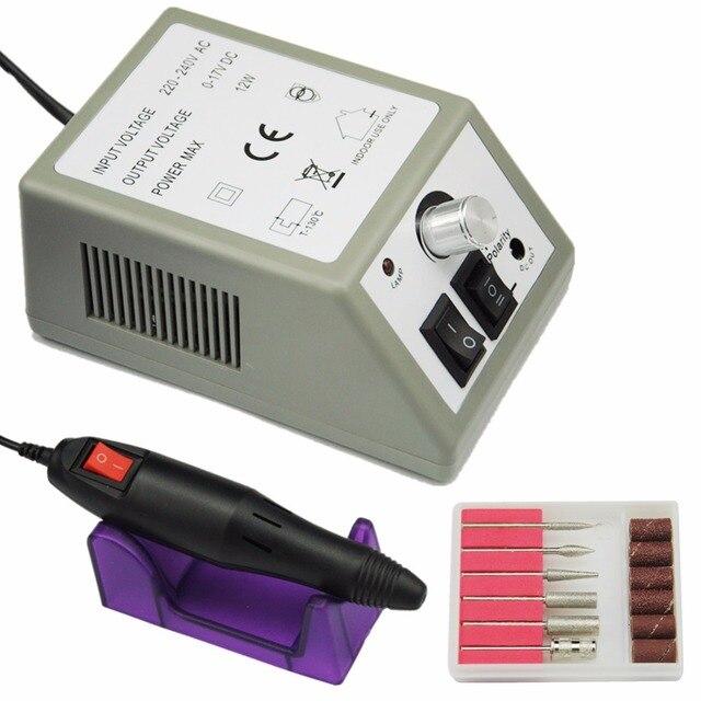 20000RPM Electric Nail Drill Machine Manicure Nail Machine Drill ...