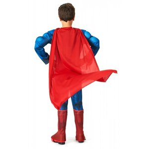 Image 2 - High Quality Children Superman Cosplay Clothing Halloween Costume For Kids