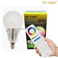 Mi Light AC85 265V 2 4G Wireless E14 5W RGB CCT Color Temperature Adjustable Smart LED